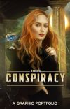 Conspiracy ♛ Graphic portfolio cover