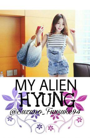 My Alien Hyung [Jungkook Story] by kaguraachan_