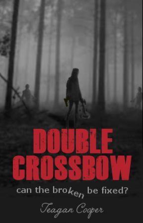Double Crossbow (Daryl Dixon) [The Walking Dead] by songbirdie
