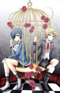 Bloody Roses  <{ Alois x Ciel x Reader }> cover