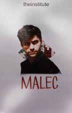 malec || matthew daddario by theinstitute