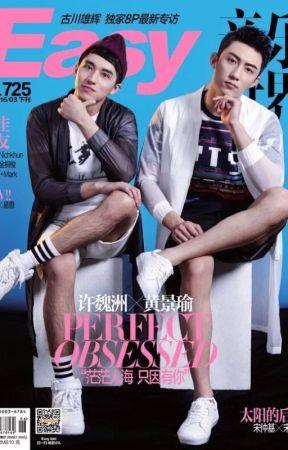 [ENG Translation] Xu Weizhou X Huang Jingyu Interview (Easy Magazine 2016/03) by kakelet