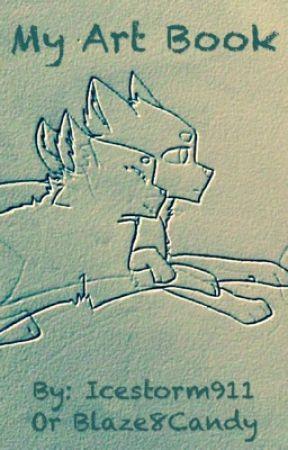 My Art book by Icestorm911