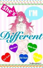 SHE'S/I'M DIFFERENT (Kuroko no basket fanfic)(DISCONTINUED) by Trufflerabbit13