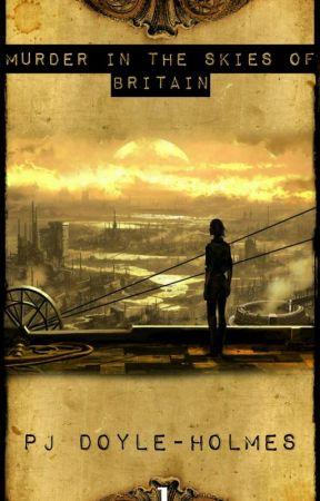 Murder In The Skies Of Britain  by PJDoyleHolmes