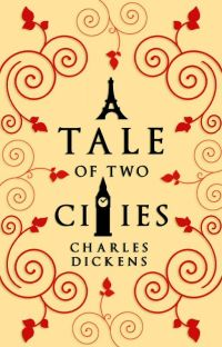 A Tale of Two Cities (1859) cover