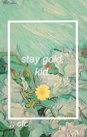 Stay Gold, Kid. | Haikyuu!! by celluloidvampira