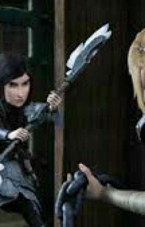 Astrid und Heidrun  by Taiwora