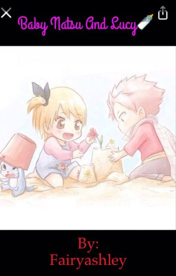 Baby Natsu and Lucy