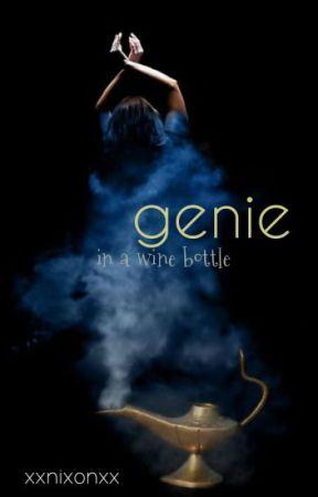 Genie in a Wine Bottle by XxNixonxX
