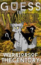 Guess That Warrior by WarriorsOfTheCentury