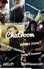 Chatroom. (avengers x reader) by ducklovers21