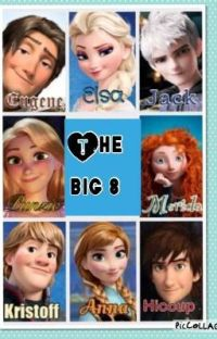 The Big 8 Saves the World cover