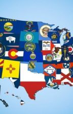 Fifty states of America x child reader by Shanemister12