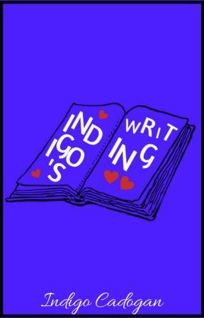 Indigo's Writing by INDIGOCADOGAN