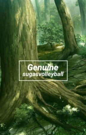 Genuine [Iwaoi Oneshot] by sugasvolleyball