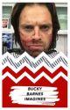 Bucky Barnes Imagines by cptnphasma