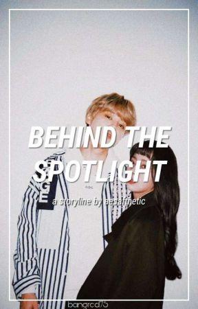 behind the spotlight | bangtanvelvet by aesafthetic
