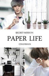 Paper Life | ChanBaek cover