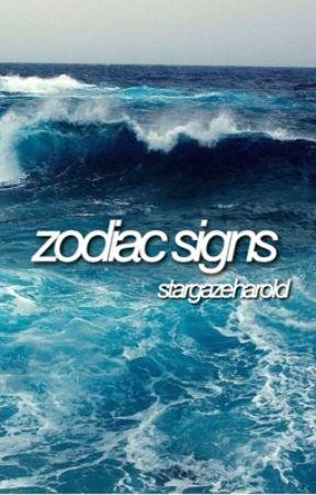 zodiac signs  by stargazeharold