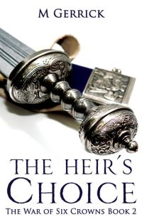 The War of Six Crowns: The Heir's Choice cover