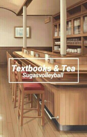 Textbooks & Tea [Bokuaka Oneshot] by sugasvolleyball