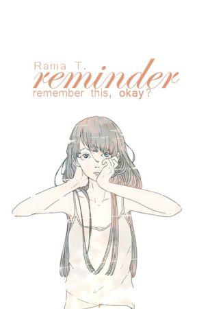 reminder  by uFiona