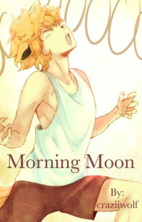 Morning Moon by craziiwolf
