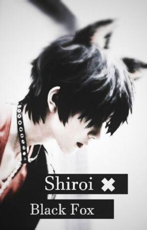 Shiroi ✖ Black Fox by Kimioo_