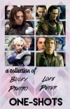 Marvel Imagines [A Collection of Bucky, Loki, Pietro and Peter oneshots] cover