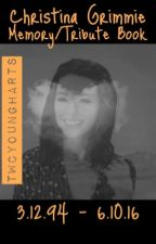 Christina Grimmie Memory/Tribute Book by twcyoungharts