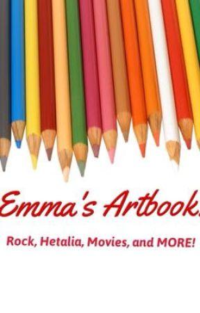Emma's Artbook! by quadrcphenia