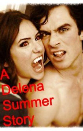 Delena Summer Story by vampirebunnyxxx