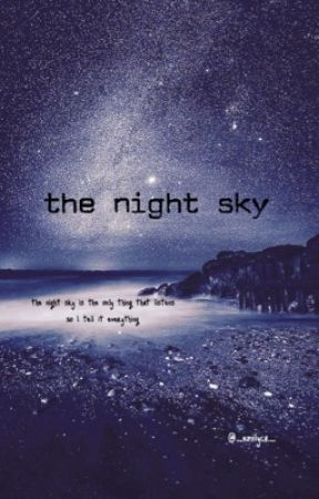 the night sky by _emilycr_