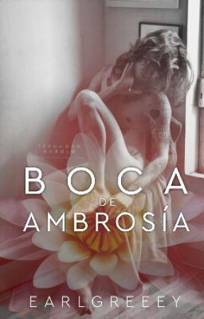 Boca de Ambrosía. by earlgreeey