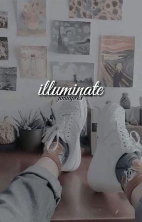 illuminate 비추다 s.m. by jiminprks