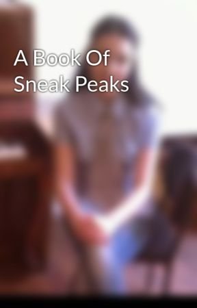 A Book Of Sneak Peaks by EterTP