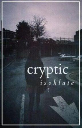 cryptic ⋙ calum hood by isohlate