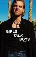 girls talk boys ↑ lashton ✓ by dreamshaded