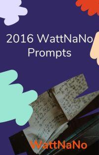 2016 NaNo Prompts cover