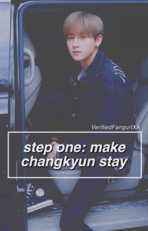 Step 1: Make Changkyun Stay by VerifiedFangurlXX