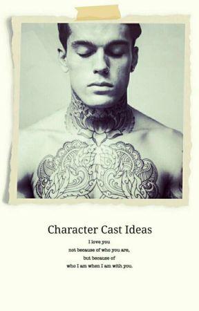 Character Cast Ideas by artbyeggo