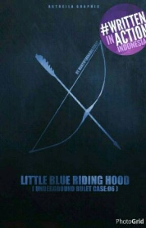 Little Blue Riding Hood by HunyutheHamster27