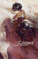 Caged [Levi X guardian!angel!reader] by hiyori-sann