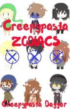 Creepypasta Zodiacs by meganproxy
