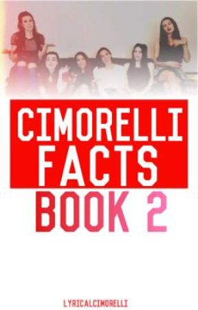 Cimorelli Facts // BOOK TWO by LyricalCimorelli