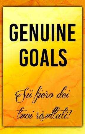 La campagna di Genuine Goals by GenuineGoals