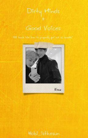 DIRTY MINDS + GOOD VOICES (p.j & j.jk) by Hobi_isthesun