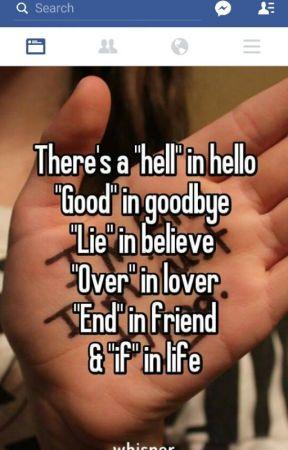 Lies by bruinsgirl3740