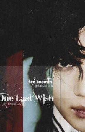 {SHINee} Lee Taemin - One Last Wish by taemlie18